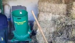 Фабриката за пелети од отпадна слама двоен бенефит за Општина Могила