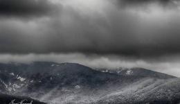 Баба Планина, црно-бела техника на природата
