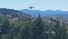 Хеликоптер го надлетува Џепането