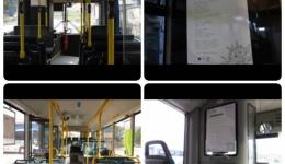 Поставени поеми во автобусите за јавен превоз низ Битола, најголемиот дел напишани од студенти