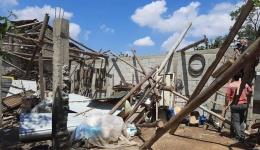 Штети од торнадото во Живојно (Фото)