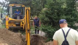 Жителите на Прилепска со цистерна се снабдуваат со вода до санација на   дефектот на водоводната мрежа